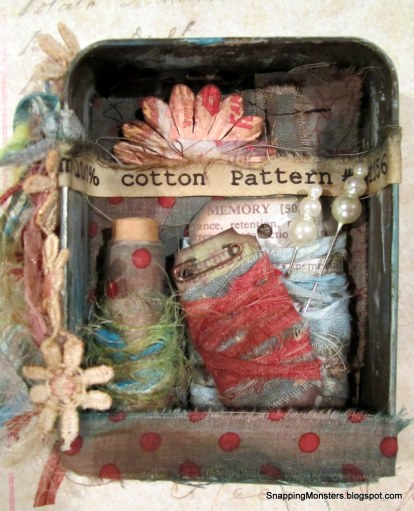 Altered Sewing Tin