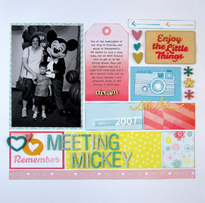 Mickey layout three